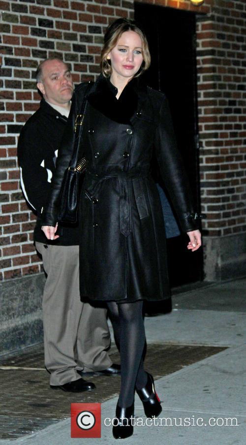 jennifer lawrence celebrities at the ed sullivan theater 3454173