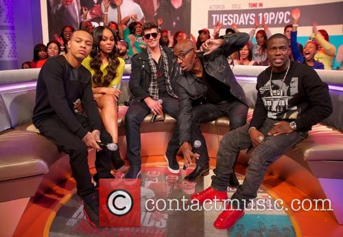 Bow Wow, Robin Thicke, Jb Smoove and Kevin Hart 2