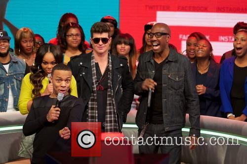 Bow Wow, Robin Thicke, Jb Smoove and Kevin Hart 4