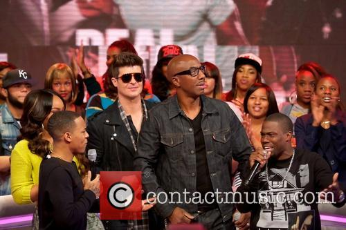 Bow Wow, Robin Thicke, JB Smoove and Kevin Hart 1