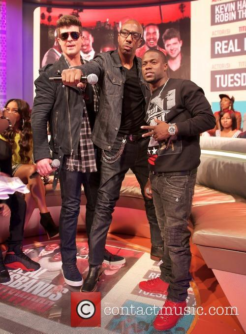 Robin Thicke, Jb Smoove and Kevin Hart 1