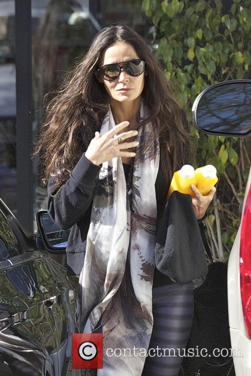 Demi Moore - EXCLUSIVE Demi Moore steps out...