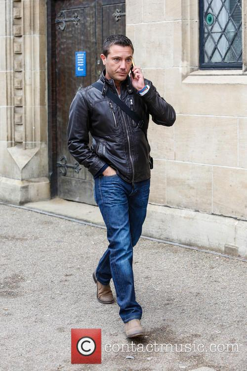 gino d'acampo celebrities at the itv studios 3453803