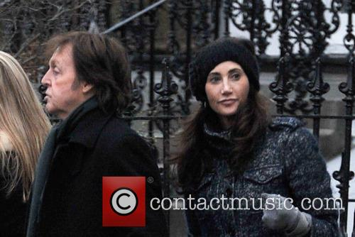 Paul Mccartney and Nancy Shevell 8