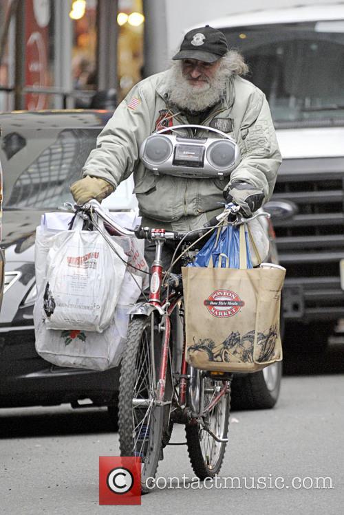 Radioman - Radioman goes for a bike ride...