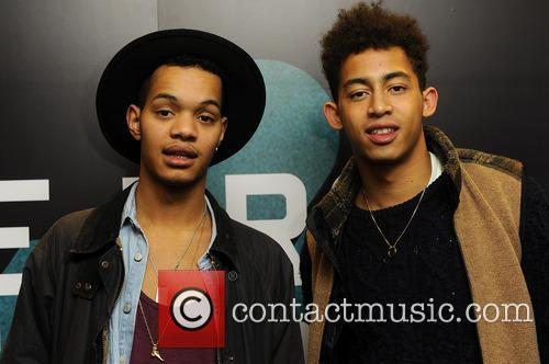 Rizzle Kicks, Jordan 'Rizzle' Stephens and Harley 'Sylvester'...