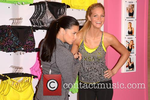 Adriana Lima and Erin Heatherton 2