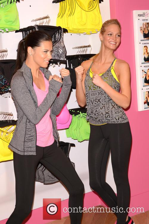 Adriana Lima and Erin Heatherton 4