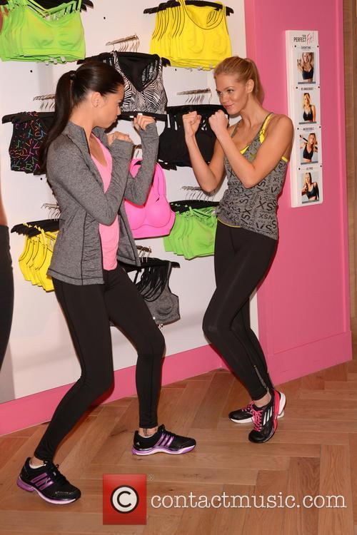 Adriana Lima and Erin Heatherton 9