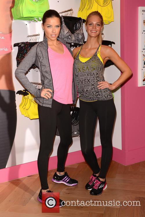Adriana Lima and Erin Heatherton 10
