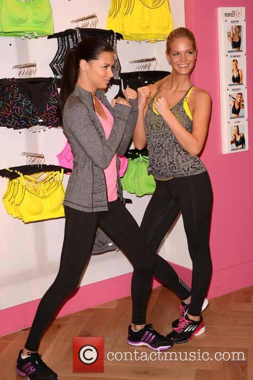 Adriana Lima and Erin Heatherton 12
