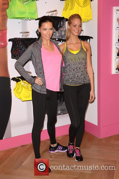 Adriana Lima and Erin Heatherton 13