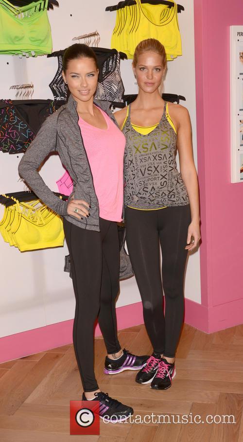 Adriana Lima and Erin Heatherton 14