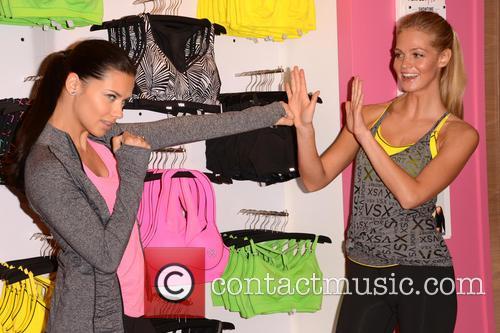 Adriana Lima and Erin Heatherton 18