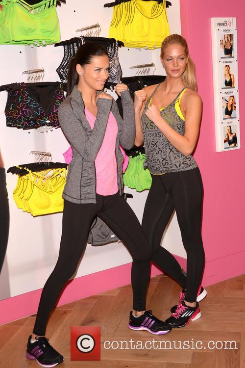 Adriana Lima and Erin Heatherton 21