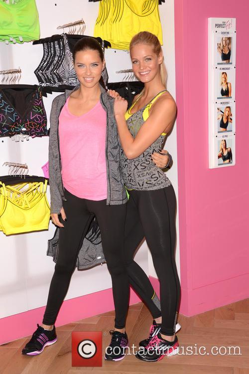 Adriana Lima and Erin Heatherton 24