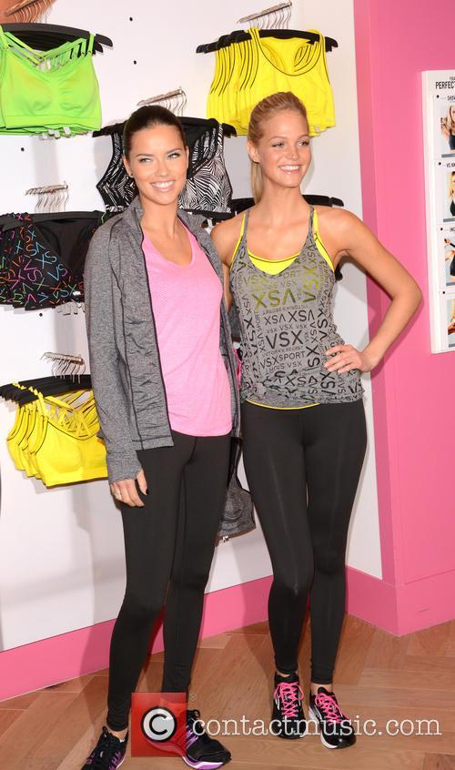 Adriana Lima and Erin Heatherton 25