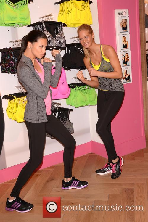 Adriana Lima and Erin Heatherton 27