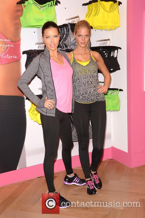 Adriana Lima and Erin Heatherton 28