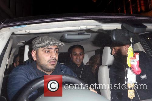 Amir Khan Leaves The and May Fair Hotel 1