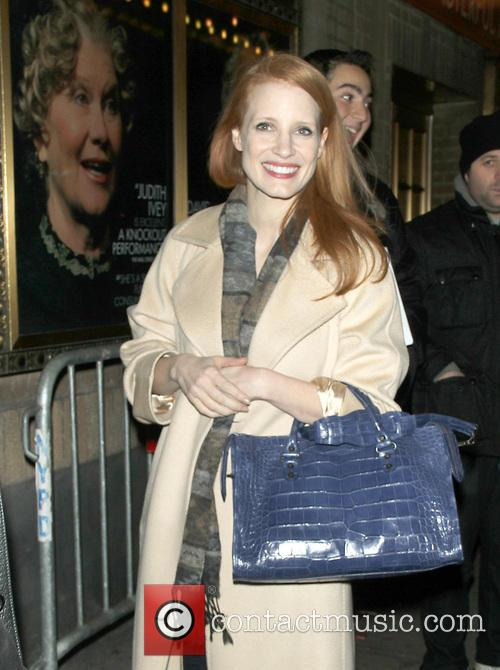 Jessica Chastain - Jessica Chastain Arriving At The...