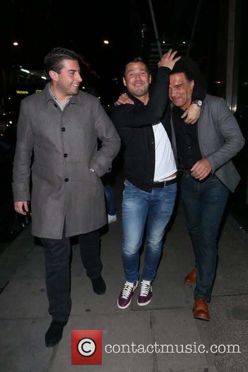 Mark Wright and James Argent 3