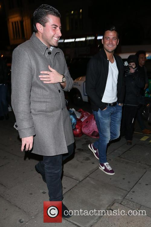Mark Wright and James Argent 4