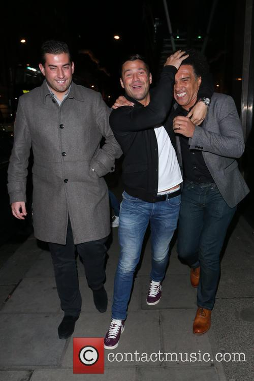 Mark Wright and James Argent 8