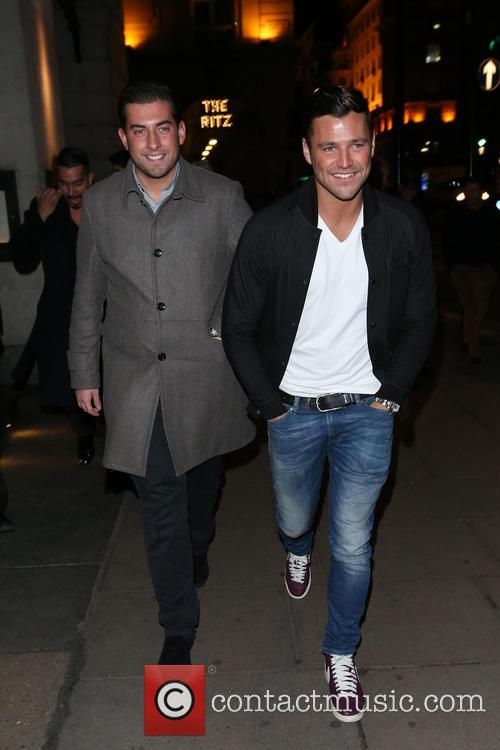 Mark Wright and James Argent 9