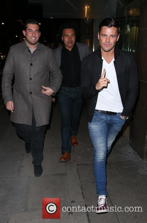 Mark Wright and James Argent 7