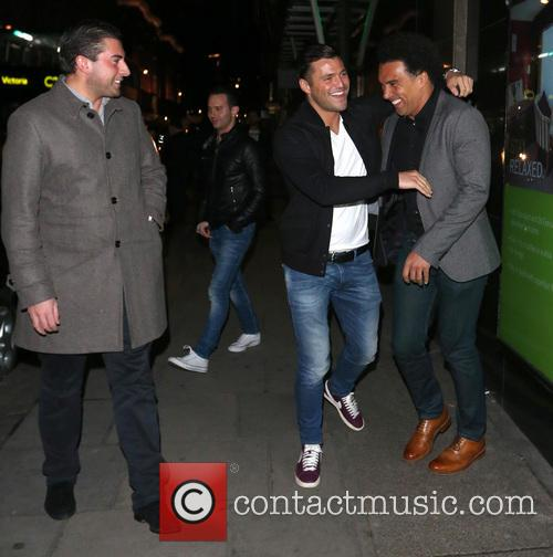 Mark Wright and James Argent 1