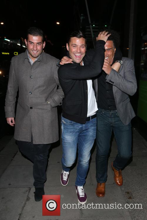 Mark Wright and James Argent 10