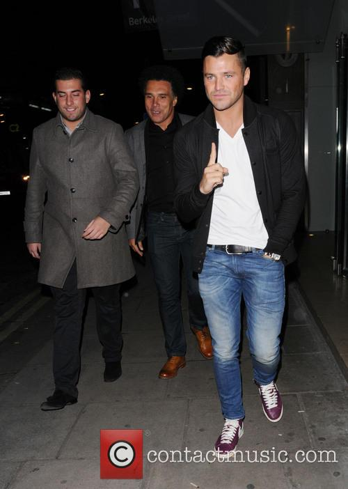 Mark Wright and James Argent 6