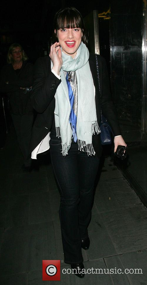 Michelle Ryan - Michelle Ryan leaves the Savoy...