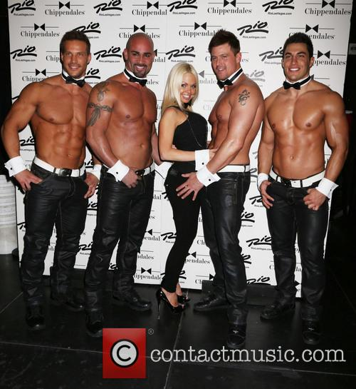 Jesse Jane and Chippendales 8