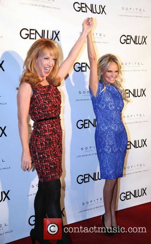 Kathy Griffin and Kristin Chenoweth 1