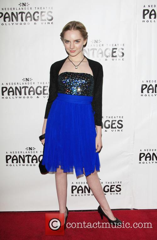 Darcy Rose Byrnes, Pantages Theater