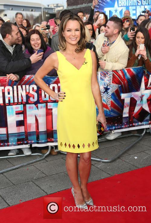 Amanda Holden - 'Britain's Got Talent' auditions Cardiff...