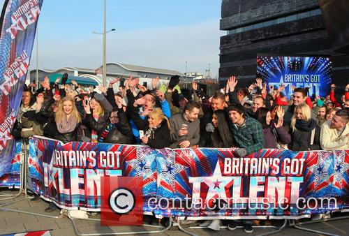 Atmosphere - 'Britain's Got Talent' auditions in Cardiff...