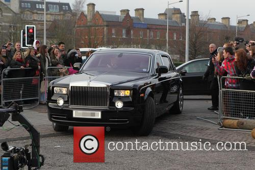 Simon Cowell - 'Britain's Got Talent' auditions Cardiff...