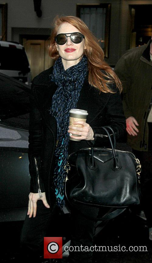 Jessica Chastain - Jessica Chastain arrives for the...