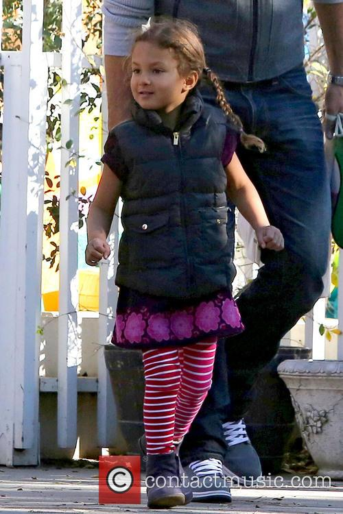 Nahla Aubry - Gabriel Aubry collects his daughter...
