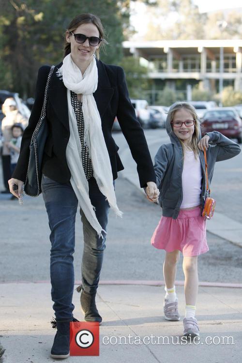 Jennifer Garner and Violet Affleck - Jennifer Garner...