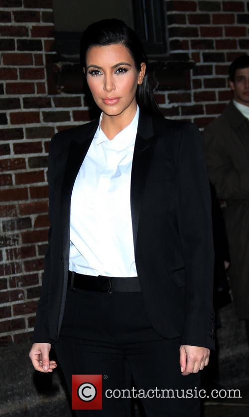 kim kardashian celebrities at the ed sullivan theater 3455606