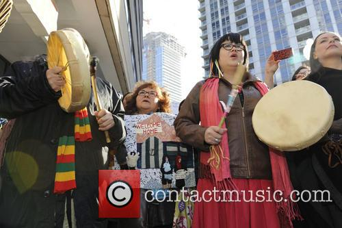 Atmosphere and Protesters 5