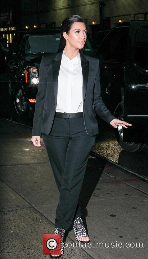 Kim Kardashian - Celebrities at the Ed Sullivan...