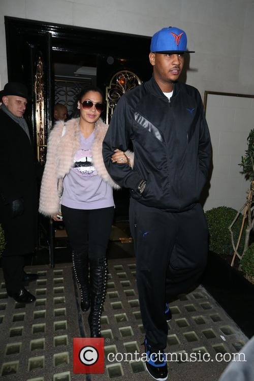 Carmelo Anthony and Lala Vasquez 3