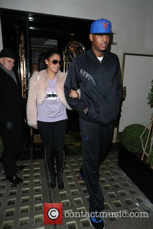 Carmelo Anthony and Lala Vasquez 7