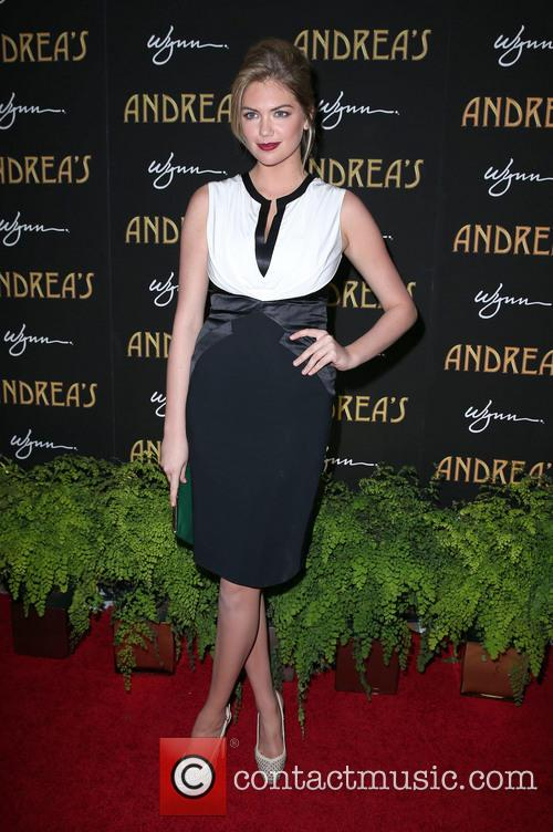 Kate Upton, Andrea's Restaurant Opening