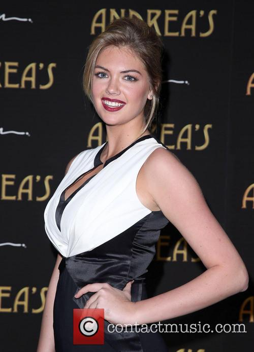 Kate Upton at Andrea's Restaurant Opening
